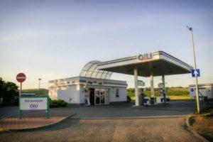 OIL benzinkút - Szob