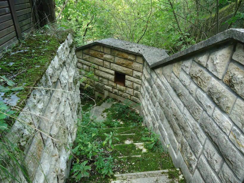 Csipkerózsika-torony lépcső
