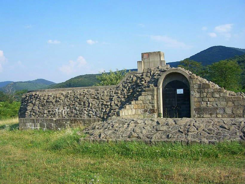 Dömösi prépostság romjai