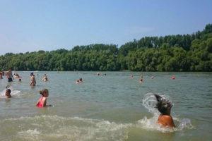 Dunabogdány strand vízminőség