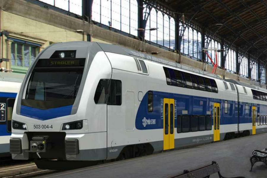 Emeletes vonatok a Dunakanyarban