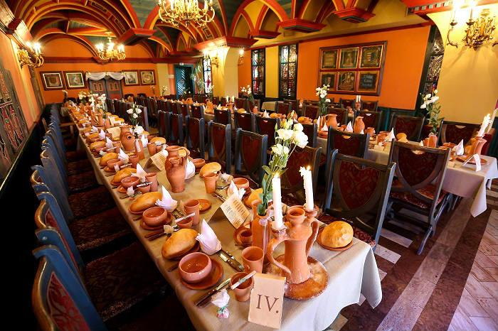 Renaissance étterem Visegrád - esküvő