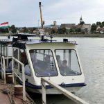 Európa első Dunai elektromos átkelőhajójának átadása