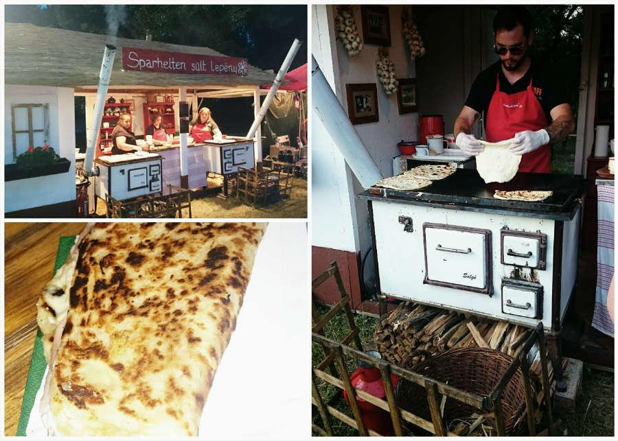 Ételek a 2015-ös Eperfesztiválon