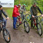 Erdei kerékpáros úthálózatot adtak át