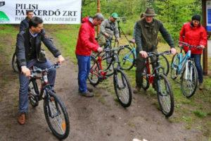 Erdei kerékpáros útvonalak a Dunakanyarban