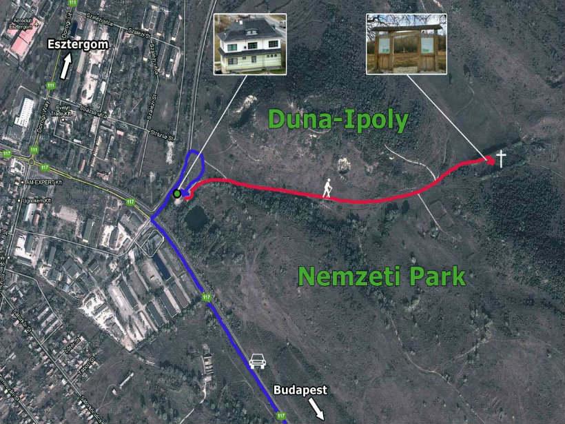 Hadifogoly temető - Esztergom