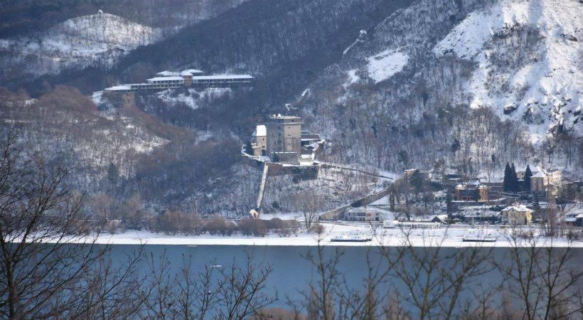 Salamon-torony télen
