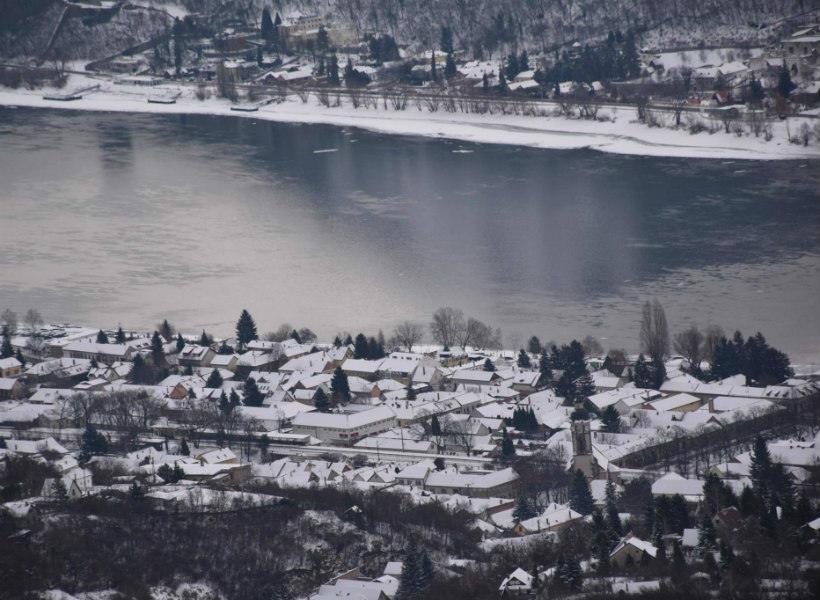 Julianus-kilátó télen