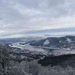 Így fest a Julianus-kilátó télen