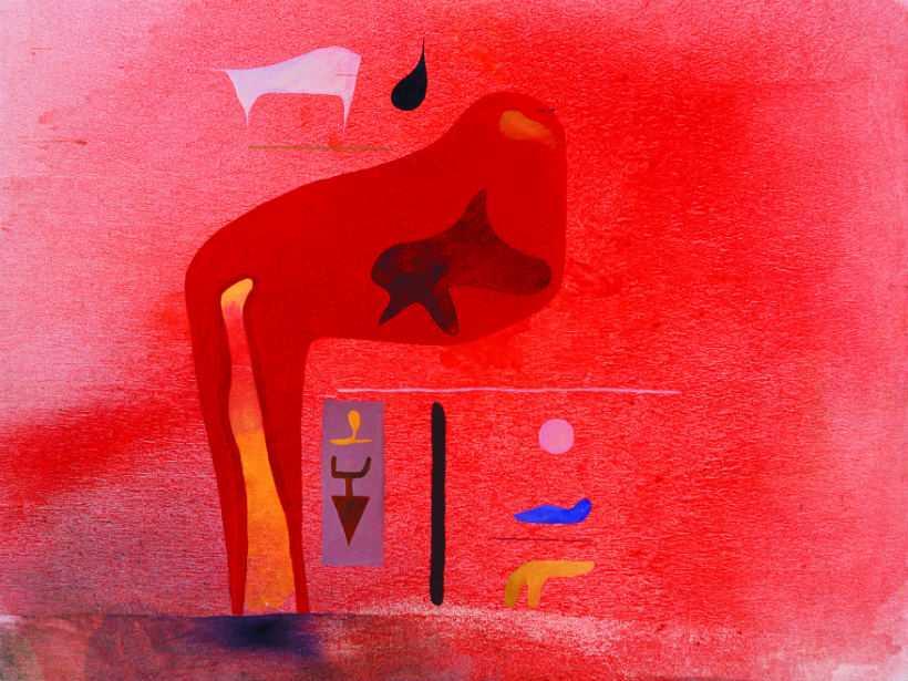 Ata Kandó festmény
