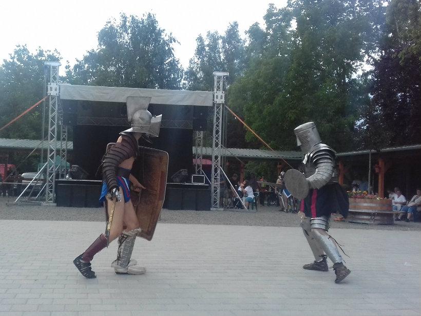 Kékevező Fesztivál - gladiátor előadás