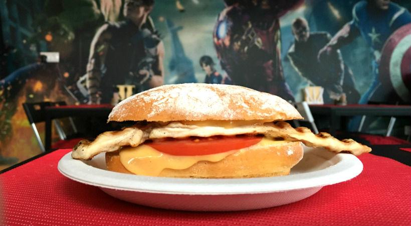 Csirkés szendvics - Vác