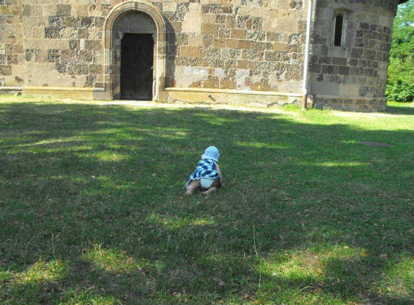 Nagybörzsöny - templomkert