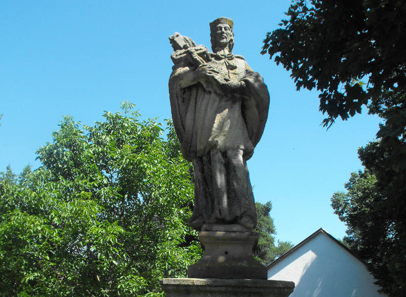 Nepomuki Szent János szobor - Vámosmikola