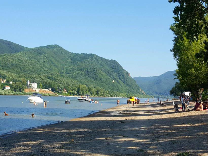 Pilismarót - Duna-part