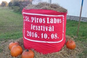 PirosLábos Fesztivál 2016 október