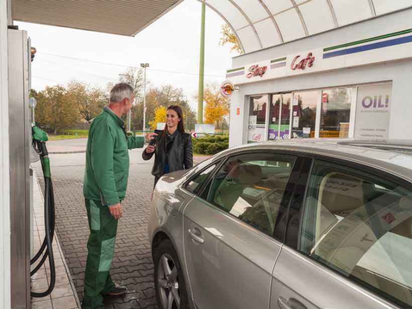 Szobi benzinkút