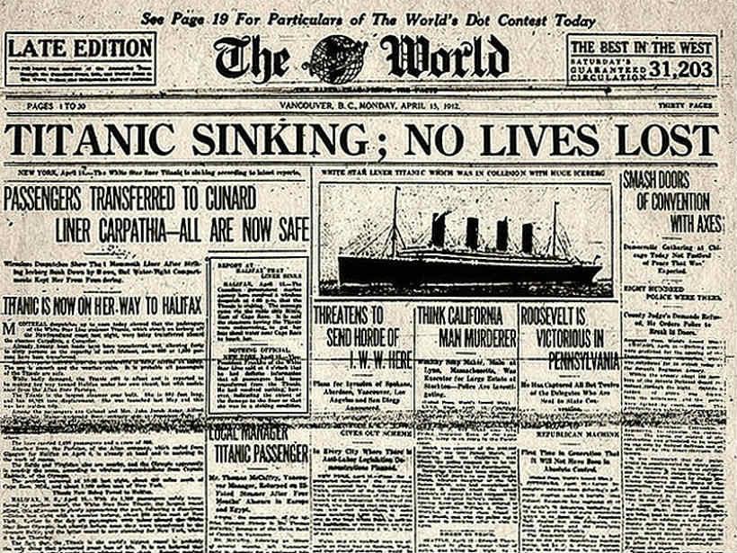 Titanic cikk