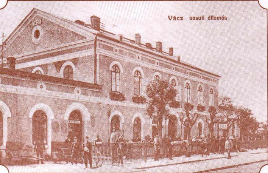 Vácz - vasútállomás