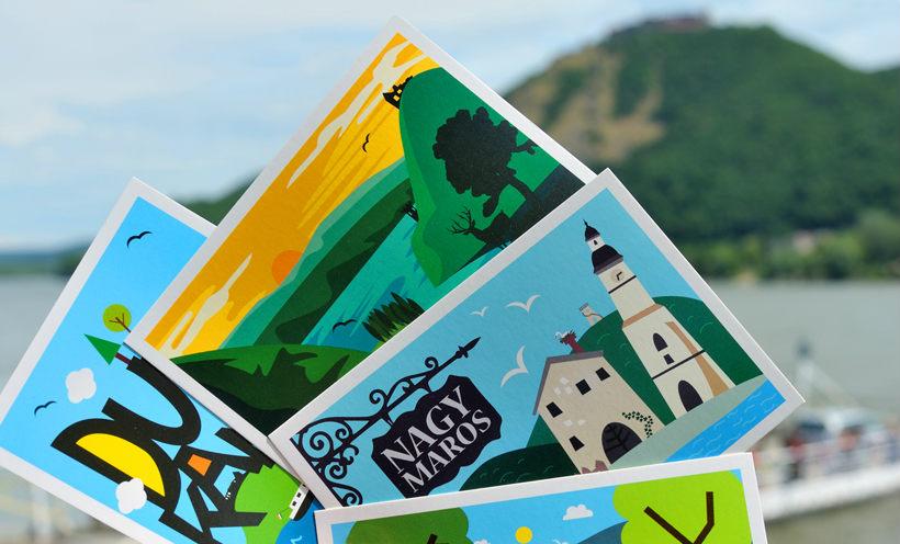 Vedd be a kanyart - nagymarosi képeslap
