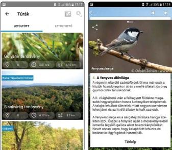 Duna-Ipoly mobil app