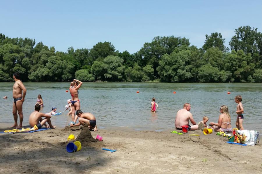 Dunabogdány strand