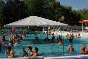 Leányfalus - strand (élményfürdő a Dunakanyarban)