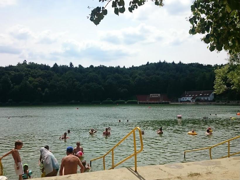 Bánki-tó strand