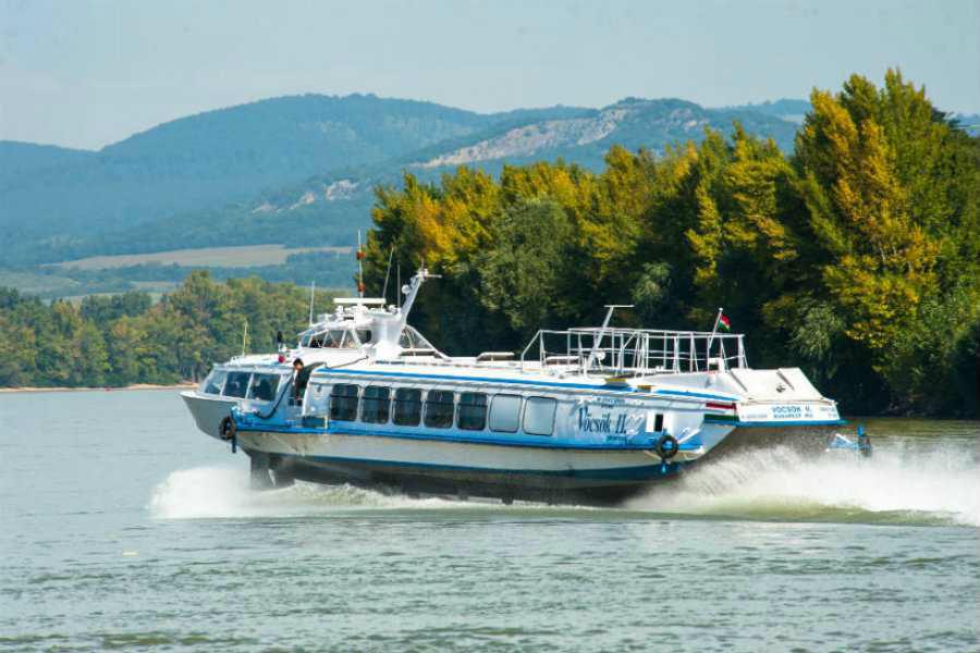hajózás a Dunakanyarban