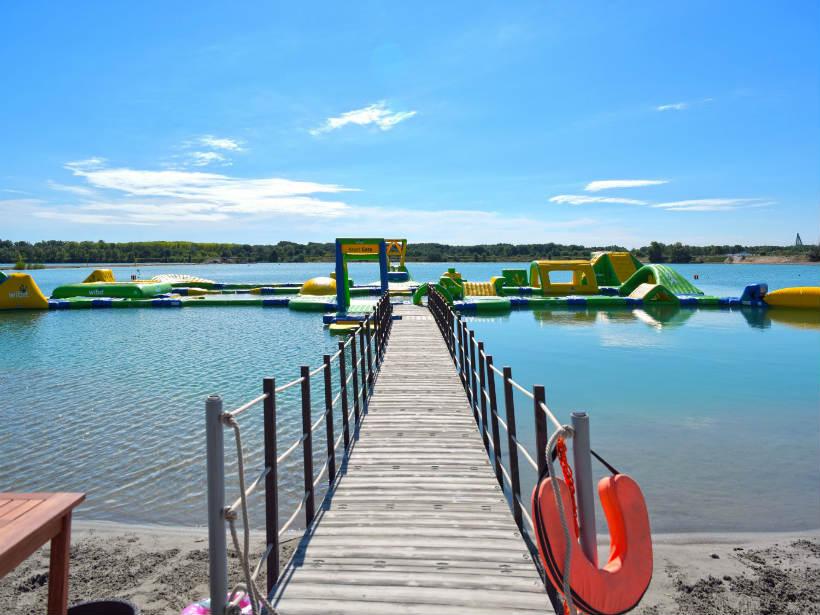 Lupa-tó stég