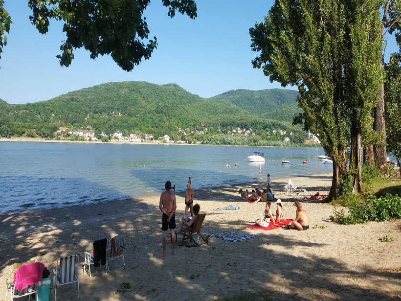 Pilismarót Duna-part