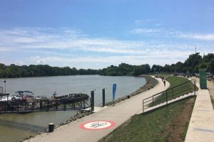 Új bicikliút épül a Dunakanyarban