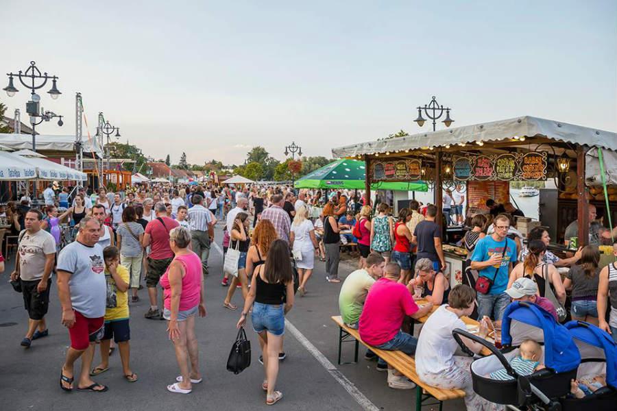 Szentendrei fesztivál Gasztro utca