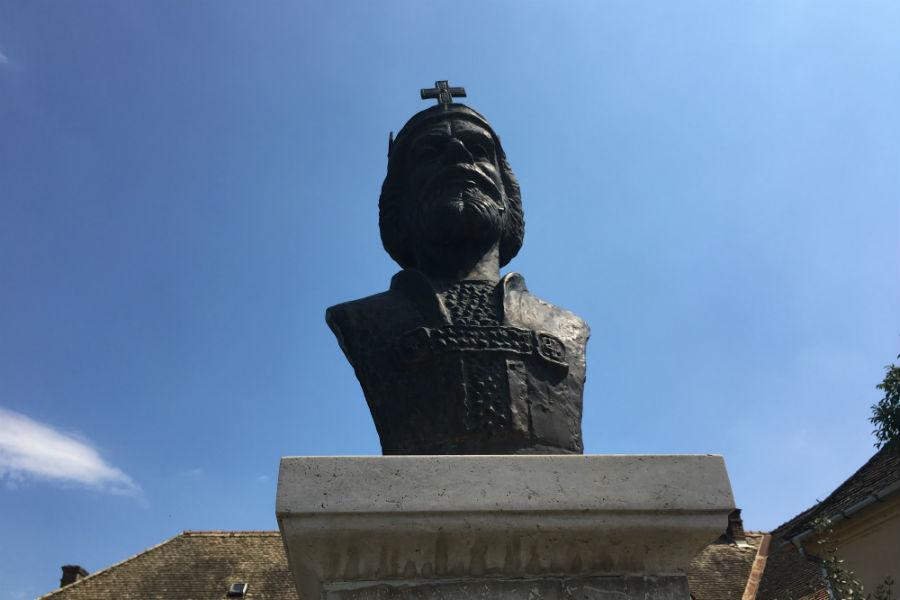Szent István szobor - Szob