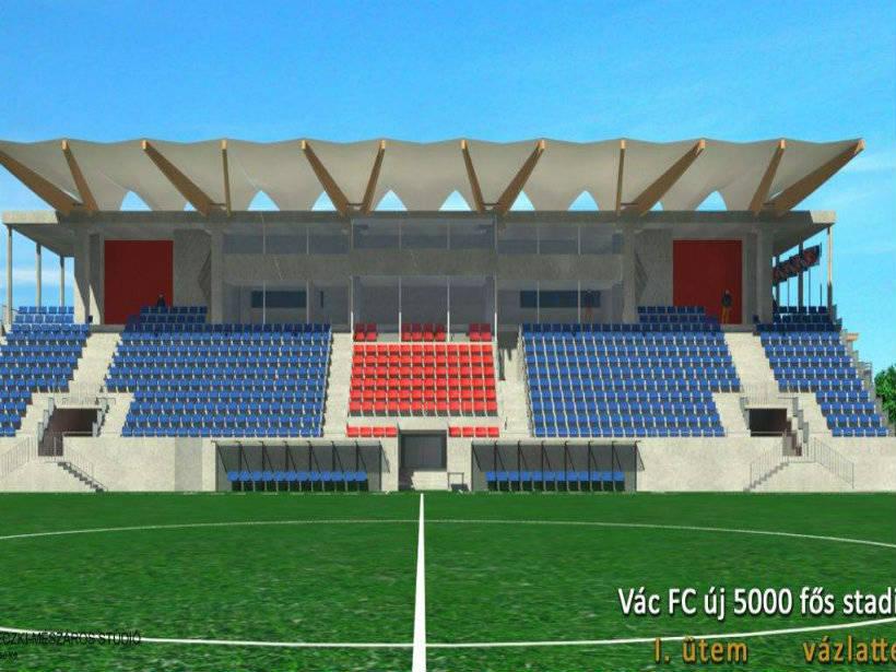 Vác új futball stadionja