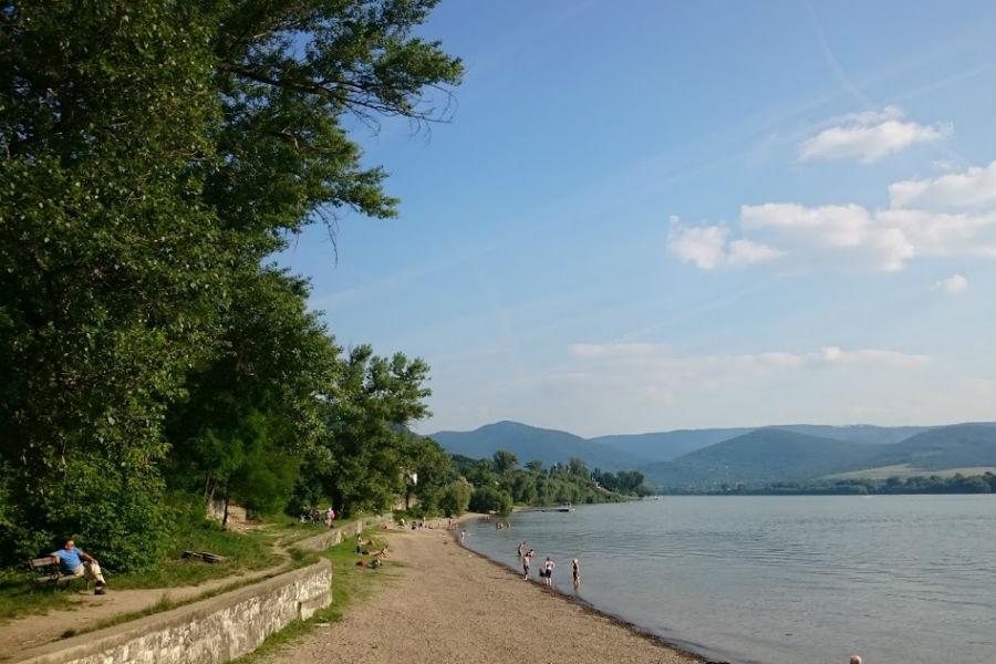 Zebegény Duna-part