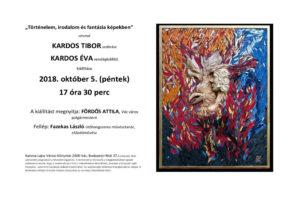 Kardos Tibor kiállításának megnyitója