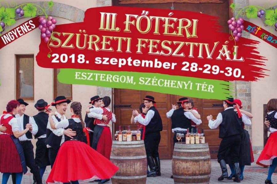 Esztergom Szüreti Fesztivál - 2018