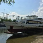Régi hajó új köntösben! – A Hunyadi vízre bocsátása és felújítása
