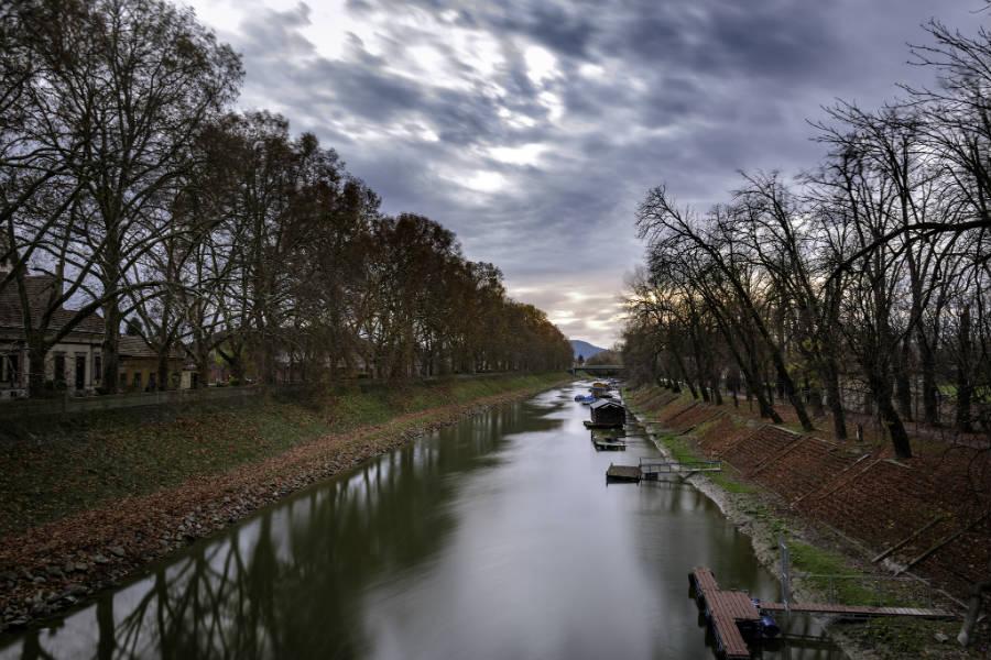 Esztergom Kis-Duna sétány