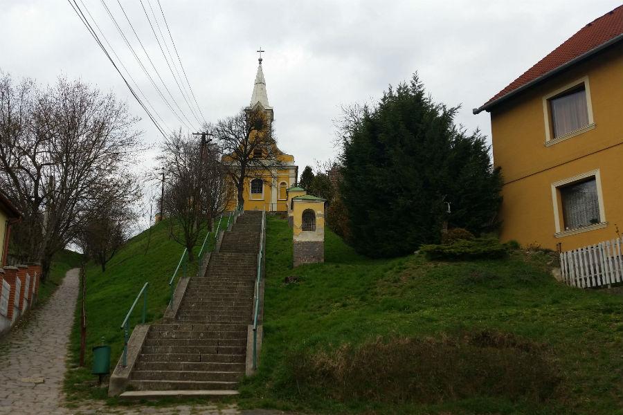 Szent András templom Verőce