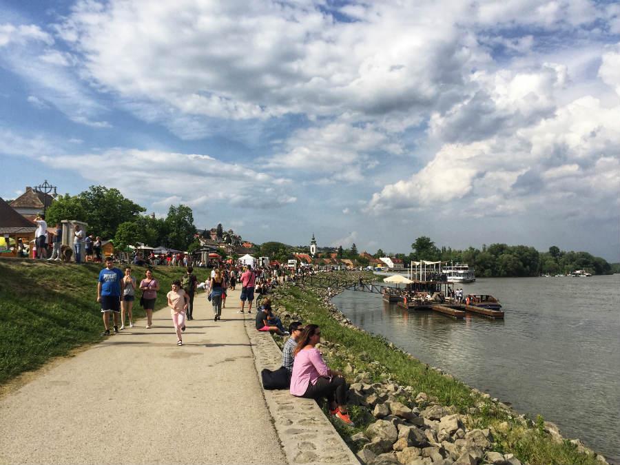 Szentendre, Duna korzó