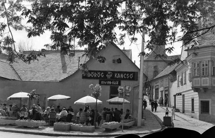 Görög utca, Duna korzó, 1961