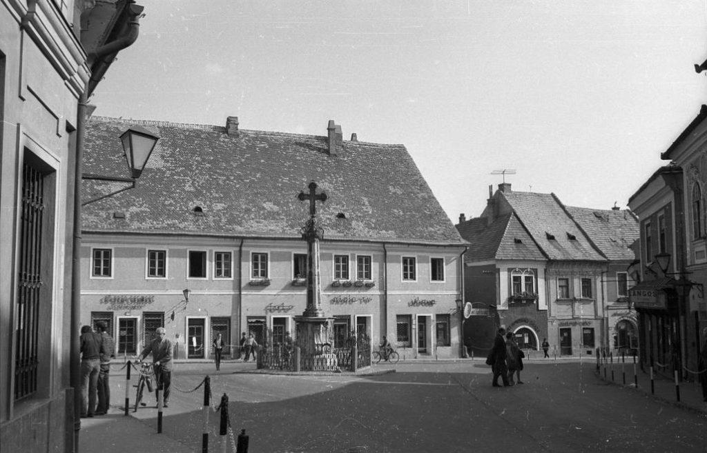 Szentendre, Fő tér, 1972