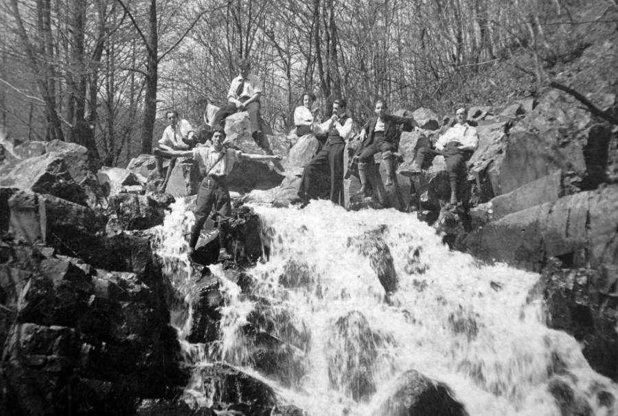 Dömörkapu-vízesés, 1918
