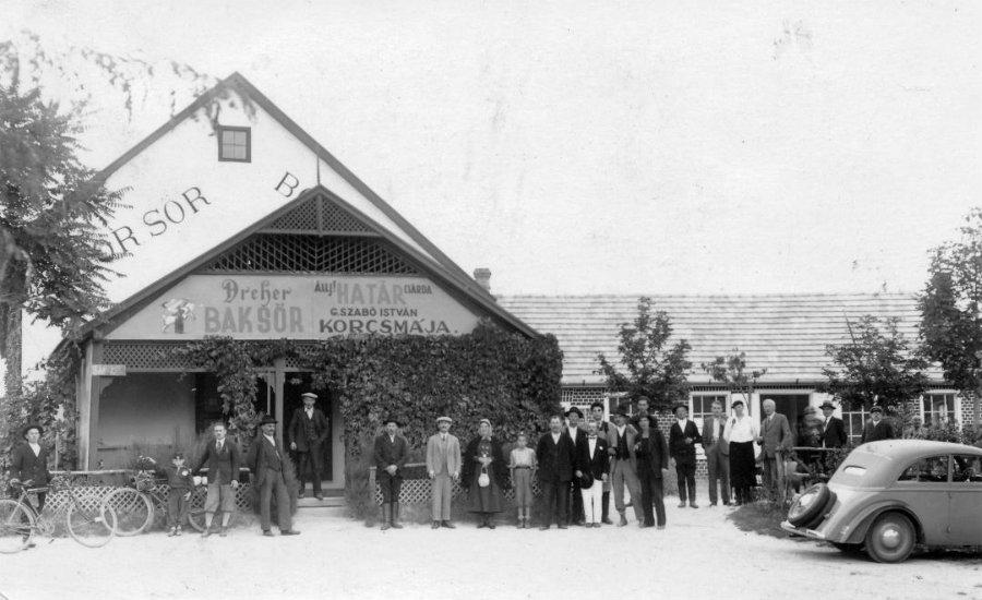 Határcsárda Leányfalu mellett, 1937