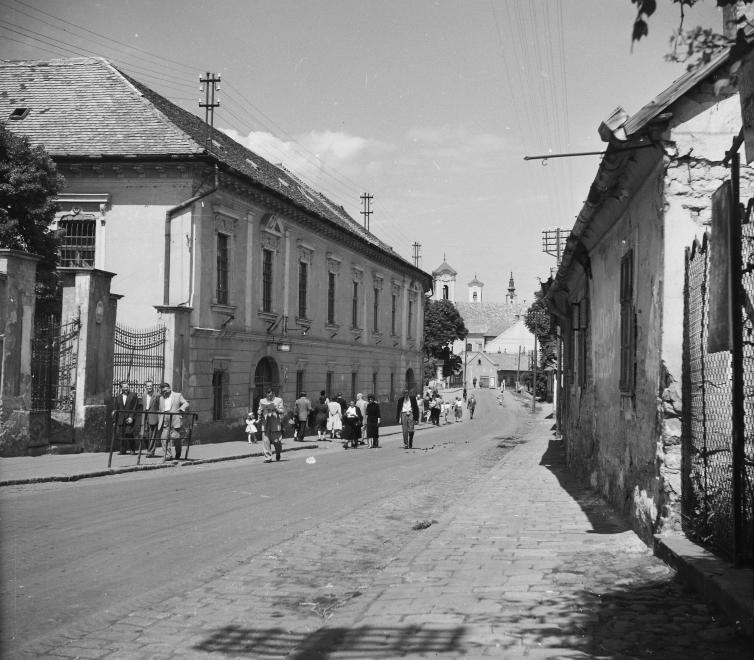 Kossuth Lajos utca, 1955