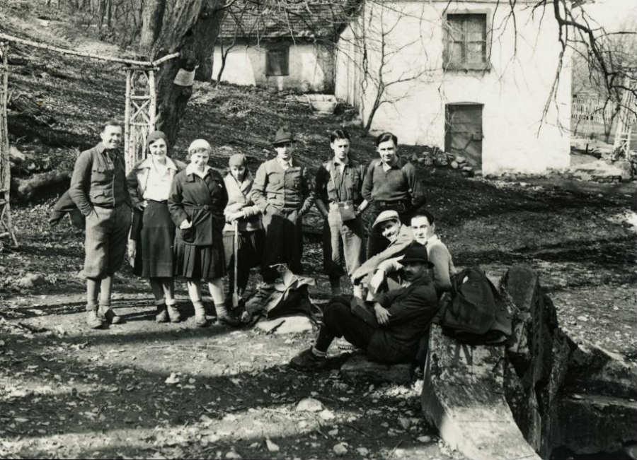 Lajos-forrás, 1924