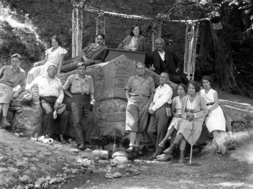 Lajos-forrás, 1935